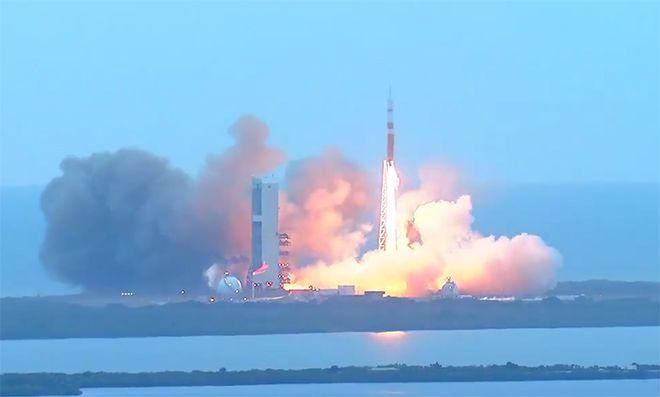 Orion test launch