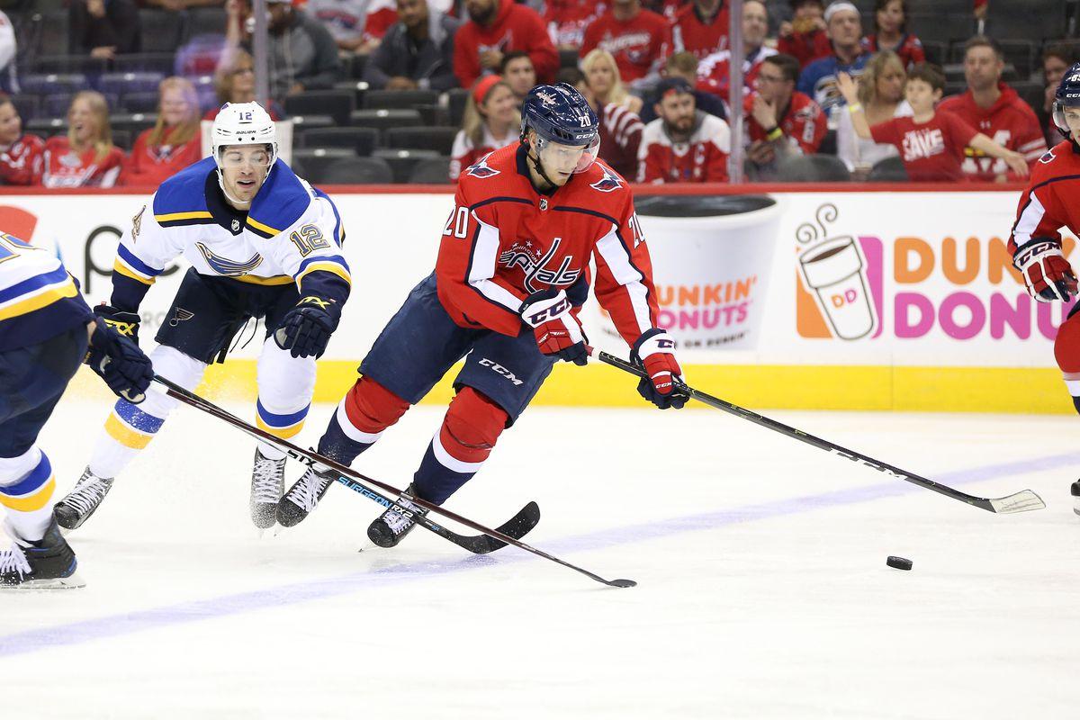 NHL: Preseason-St. Louis Blues at Washington Capitals