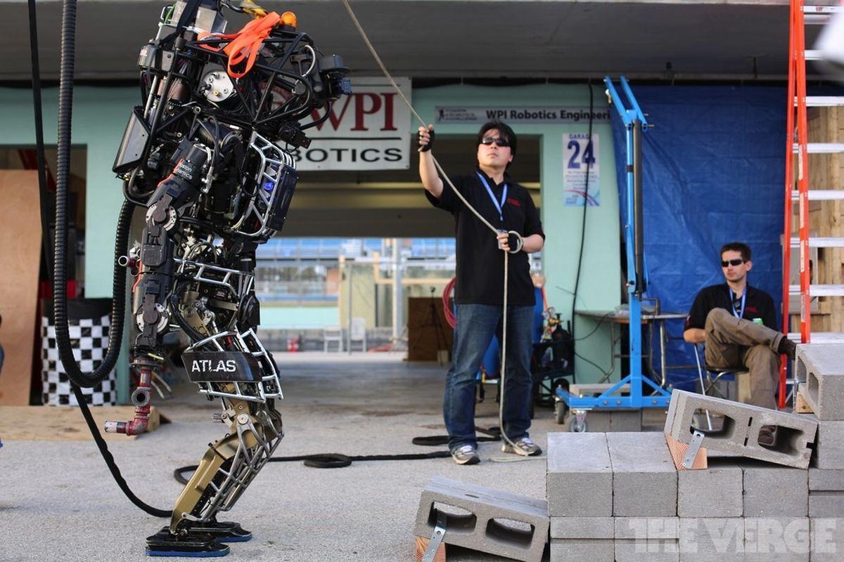 DARPA ATLAS robotics challenge STOCK