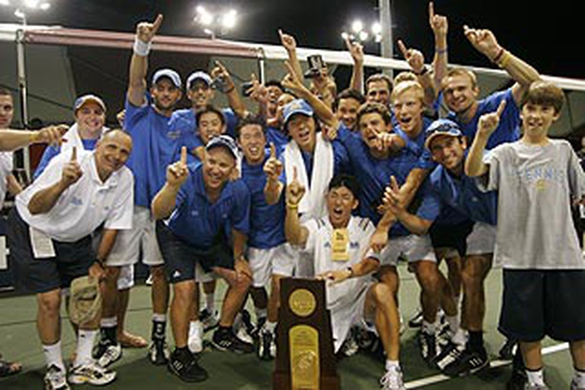Hopefully, the men's tennis team can pull this off again, and bring another title home to Westwood.