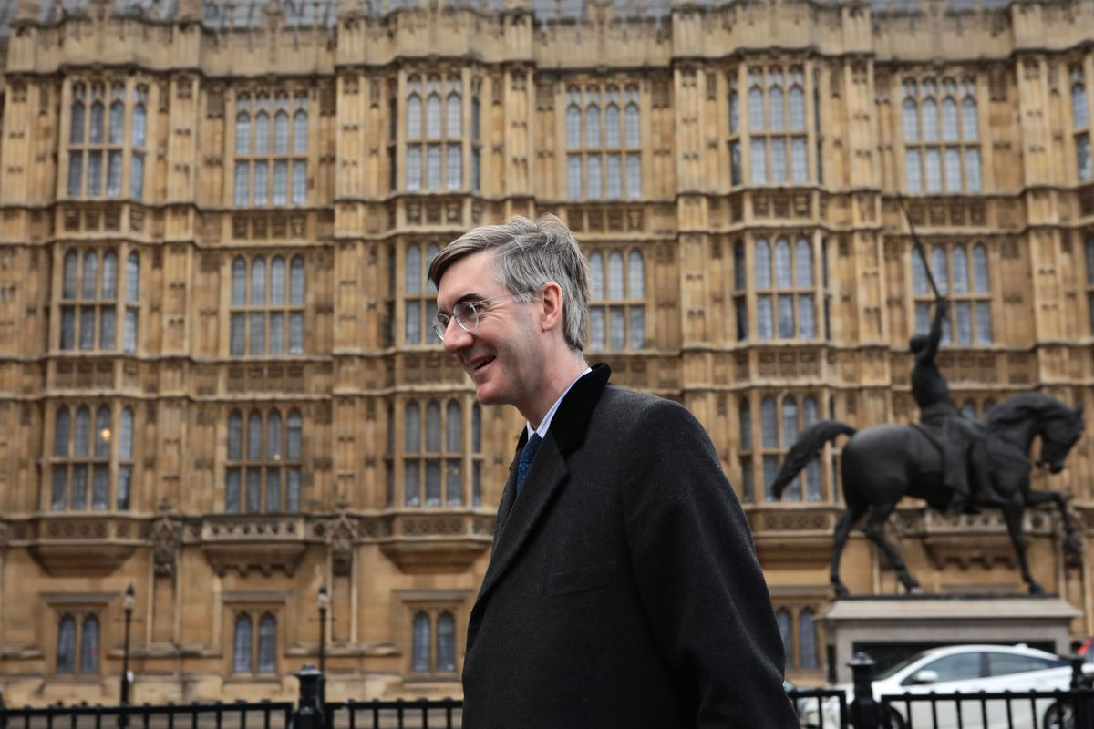 Even Brexit Supporting MP Jacob Rees-Mogg needs to eat out in London