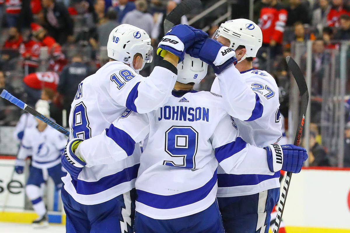 NHL: OCT 30 Lightning at Devils