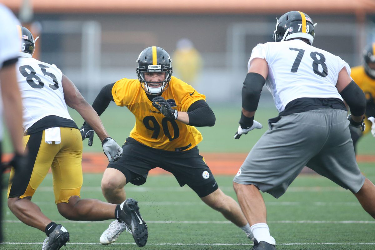 f3cee0b0c46 Steelers OTAs Recap Day 8  Back to the gridiron after a fun day off ...