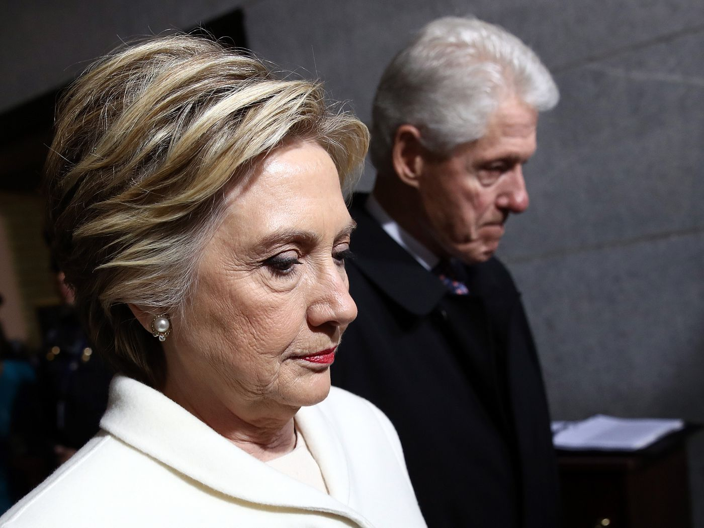 Hillary Clinton: troubling comments on Bill Clinton and