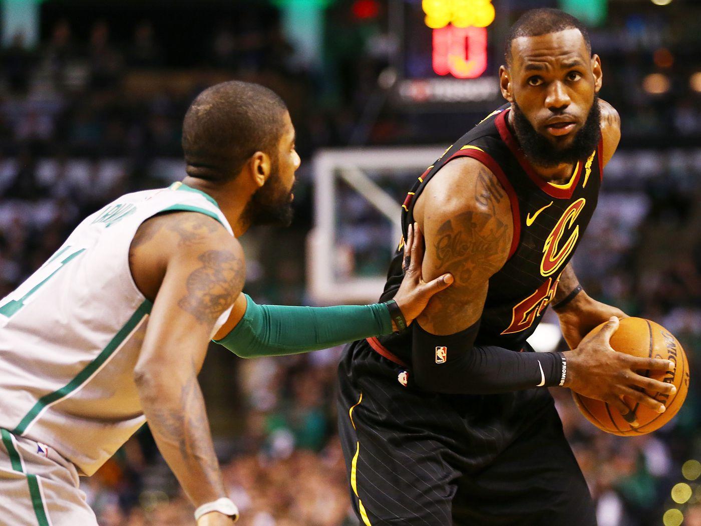 2614ffebbba The brand new Cavs crushed the Celtics on Paul Pierce s night