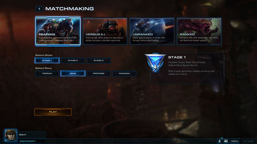 from Salvatore sc2 unranked matchmaking