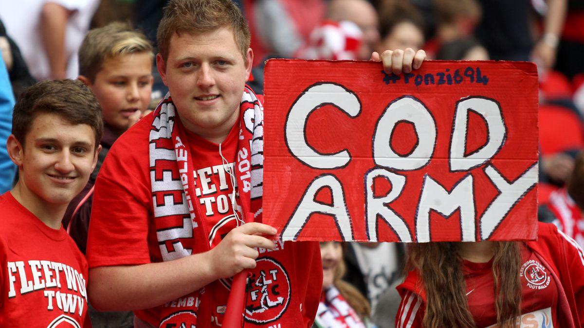 Soccer - Sky Bet League Two - Play Off - Final - Fleetwood Town v Burton Albion - Wembley Stadium