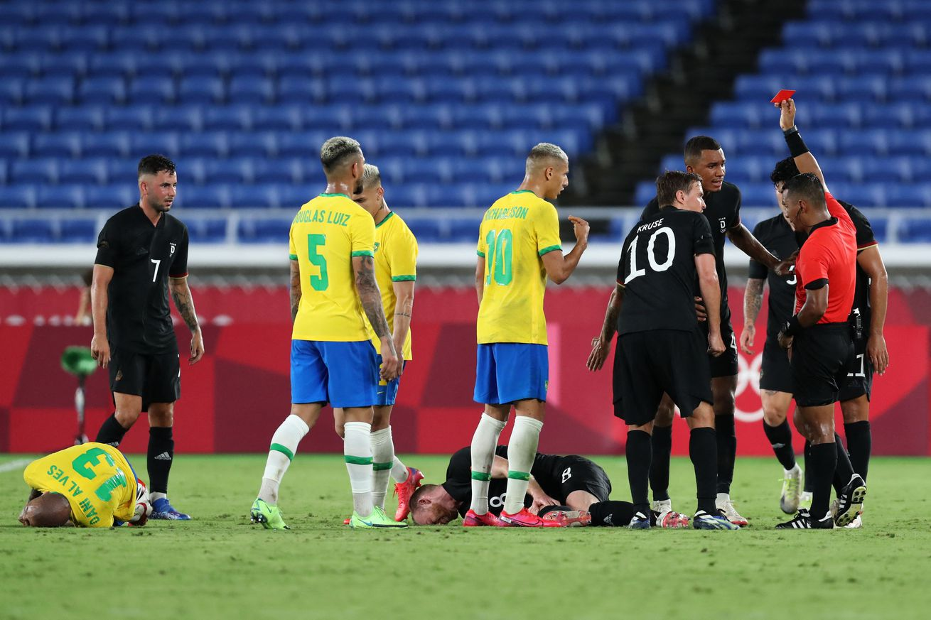 Reinier Jesus comes off the bench in Brazil?s 4 - 2 win over Germany, Olympics 2021
