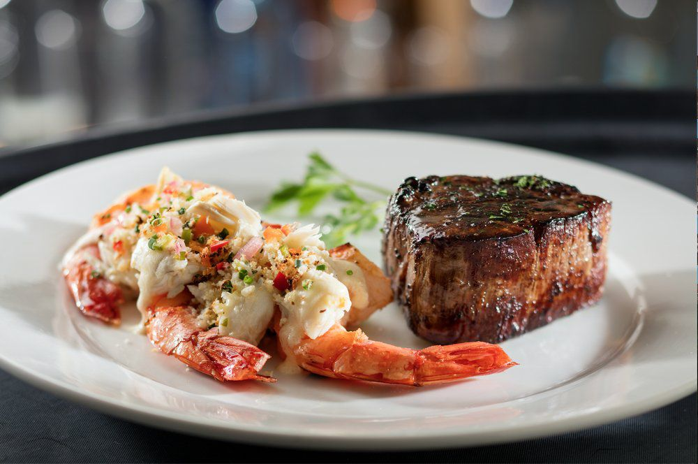 Surf and turf from Eddie V's