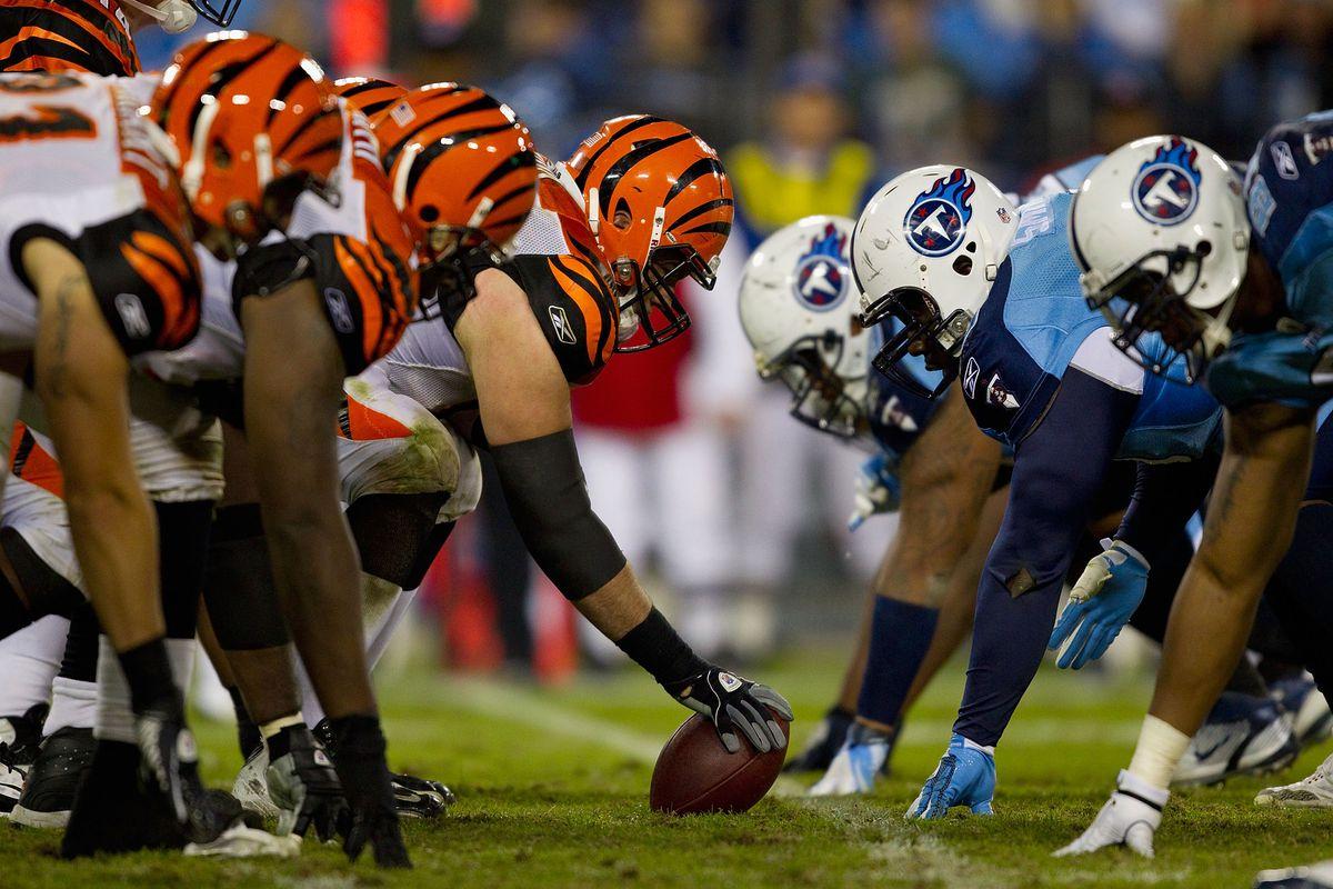 Cincinnati Bengals v Tennessee Titans