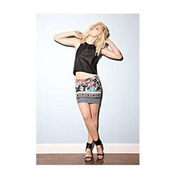 """<b>ASTR</b> Faux Leather Crop Top in Black, $52 at <a href=""""http://shop.nordstrom.com/s/astr-faux-leather-crop-top/3483008?origin=keywordsearch"""">Nordstrom</a>"""