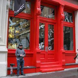The facade color is no doubt historically correct.