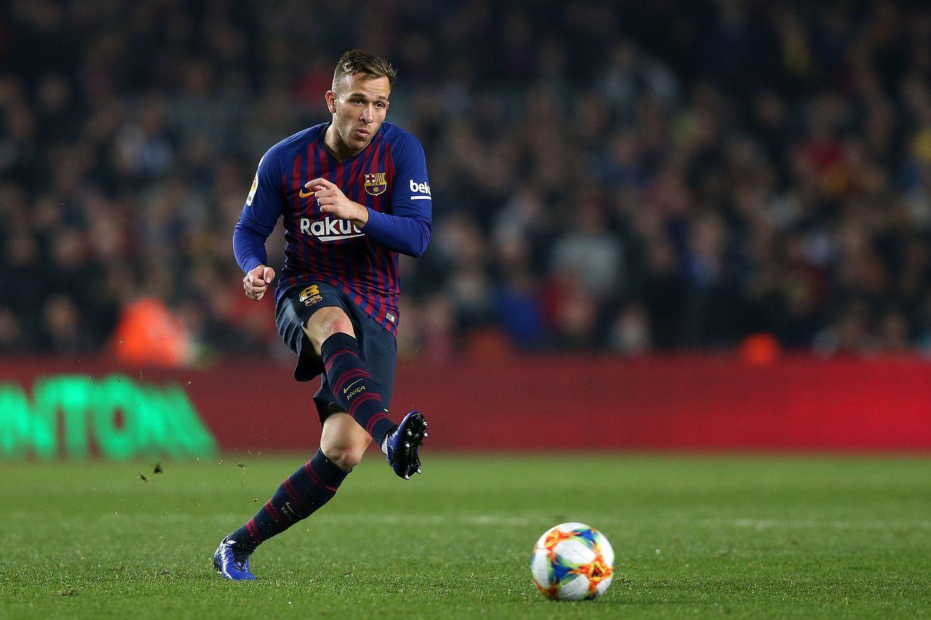 Arthur targeting clásico return for Barcelona