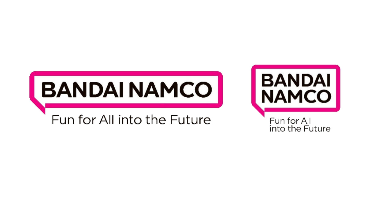 image of Bandai Namco's new corporate logo