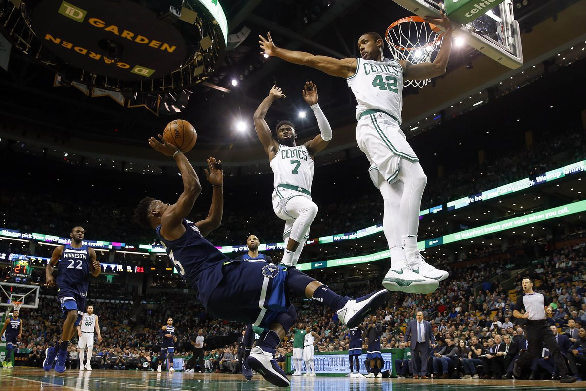 NBA: Minnesota Timberwolves at Boston Celtics