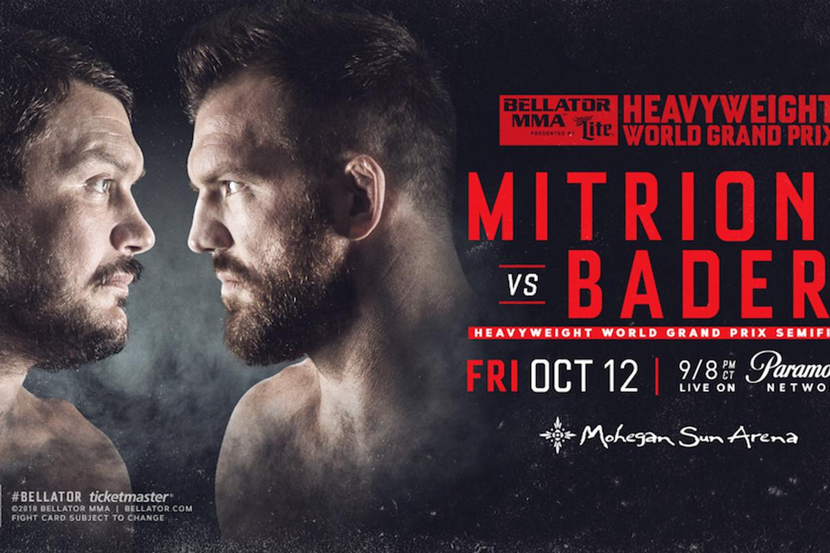 Mitrione vs Bader