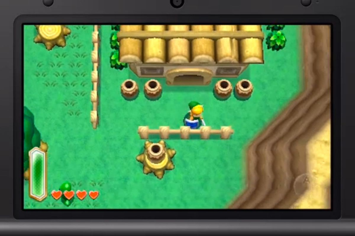 Risultati immagini per the legend of zelda link to past 3ds
