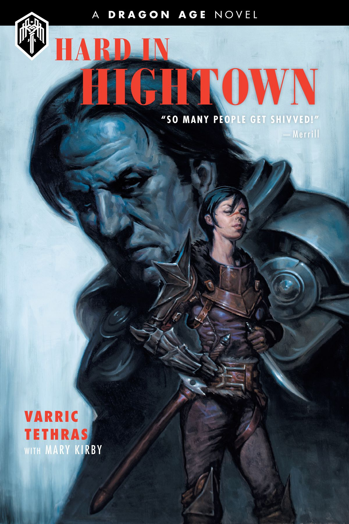 Cover, Hard in Hightown book.