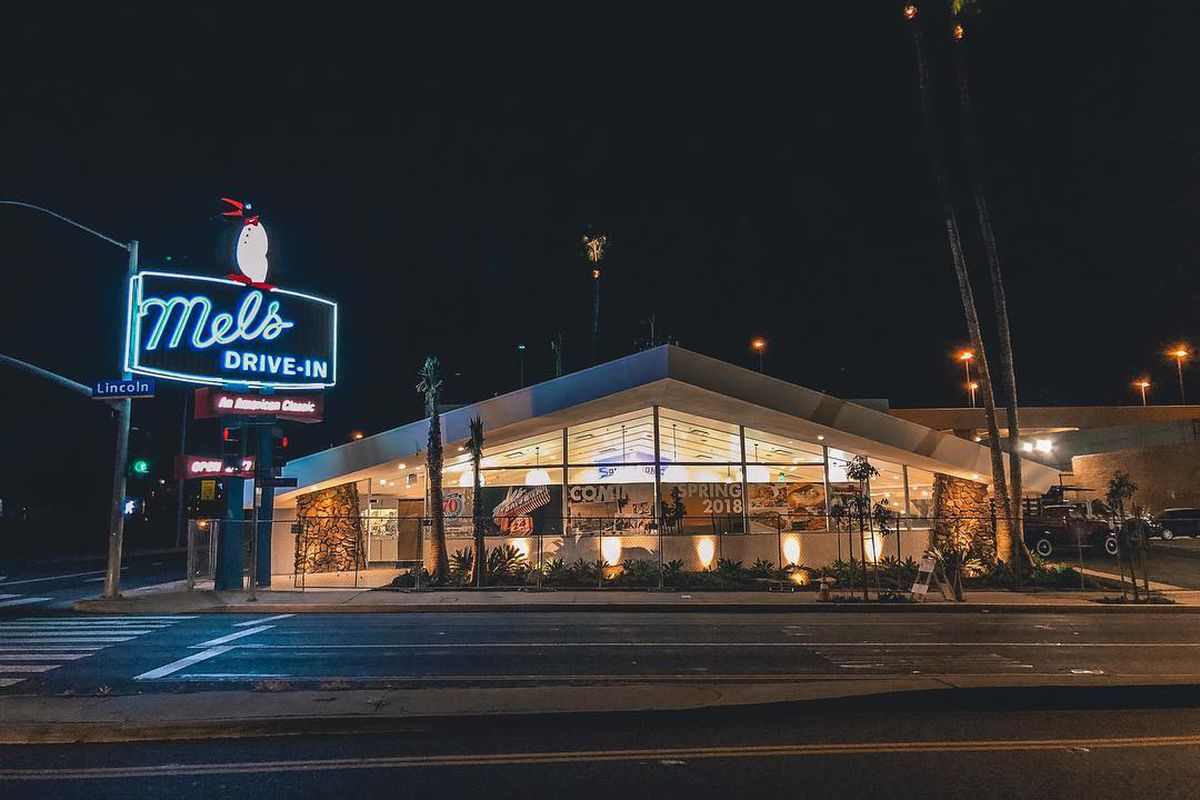 The Redone Mels Drive In In Santa Monica Mels Drive In Official