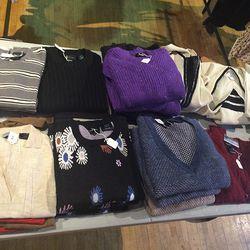 Sweaters, $100-$180