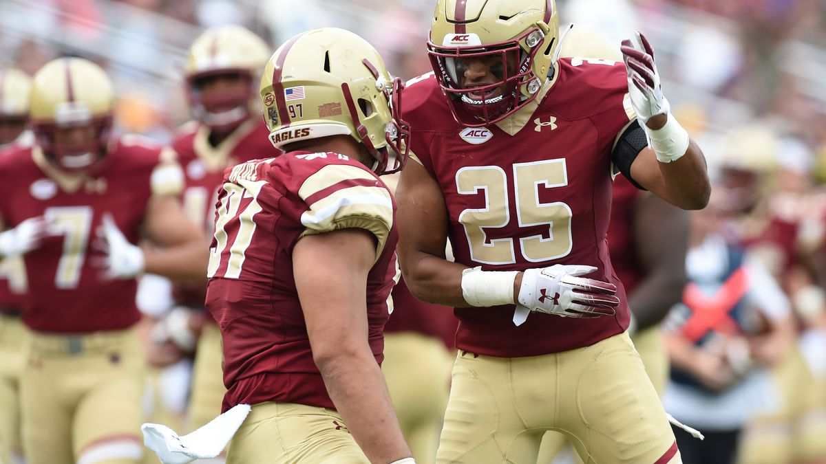 NCAA Football: Holy Cross at Boston College