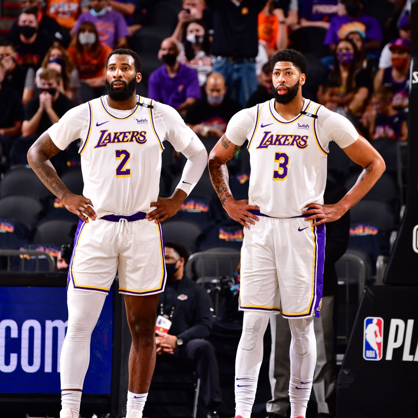 Andre Drummond says Lakers will make lineup adjustments if ...