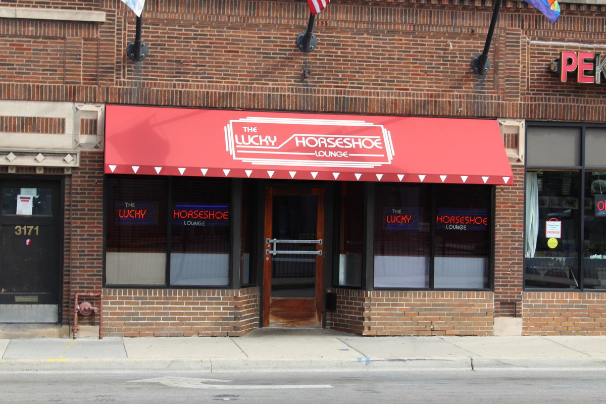 The Lucky Horseshoe Lounge, a Boystown bar where Officer Thomas Walsh is accused in a lawsuit of attacking an African American security guard in 2013 and repeatedly calling him the N-word.