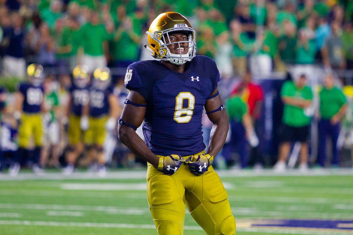 Jafar Armstrong Notre Dame vs Michigan