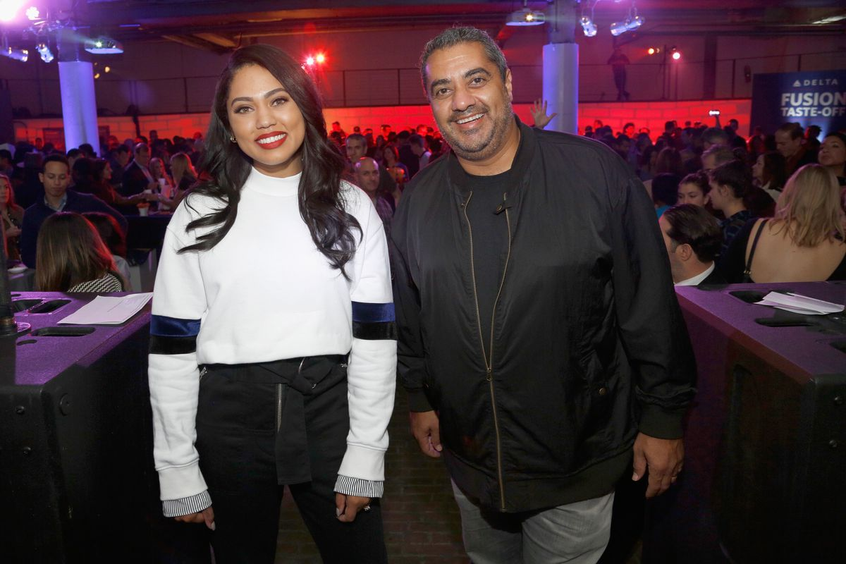 Food Network & Cooking Channel New York City Wine & Food Festival Presented By Coca-Cola - Street Eats hosted by Ayesha Curry and Michael Mina part of LOCAL presented by Delta Air Lines