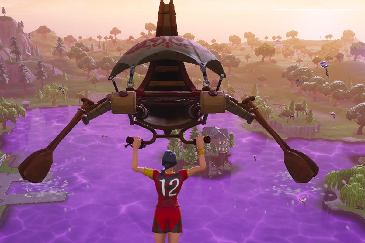 Fortnite update loot lake