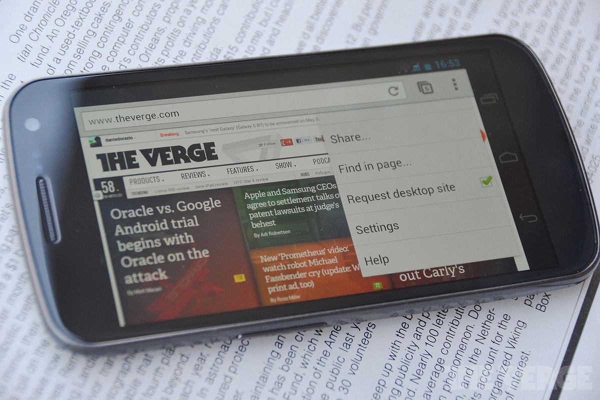 Chrome Beta Android The Verge