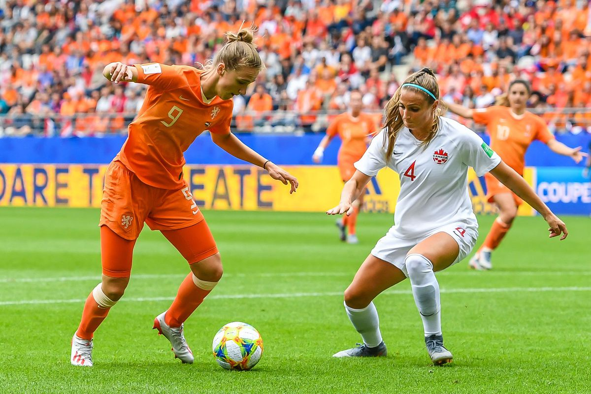 """FIFA Women's World Cup France 2019""""Women: The Netherlands v Canada"""""""