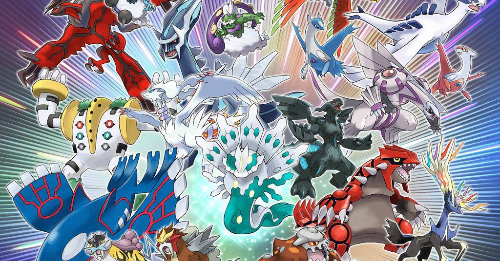 Legendary Pokémon downloads available throughout 2018