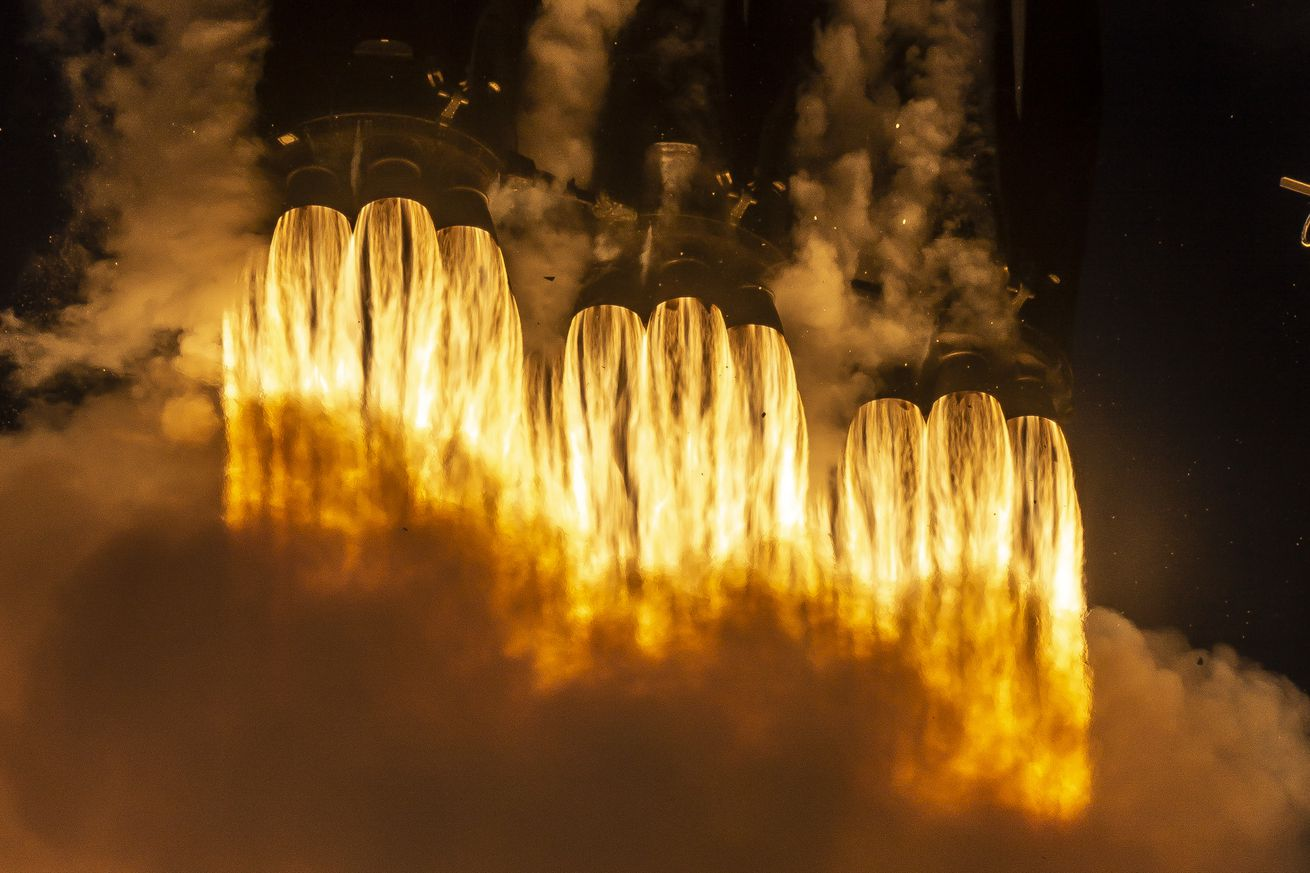 why the third launch of spacex s falcon heavy rocket has the highest stakes yet