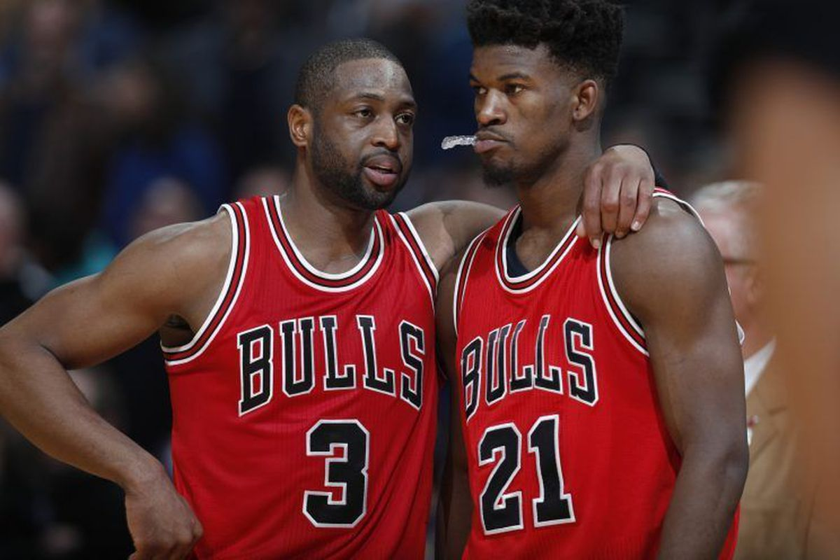 Jimmy Butler Says So Called Dislike For Dwyane Wade Is Crazy Chicago Sun Times