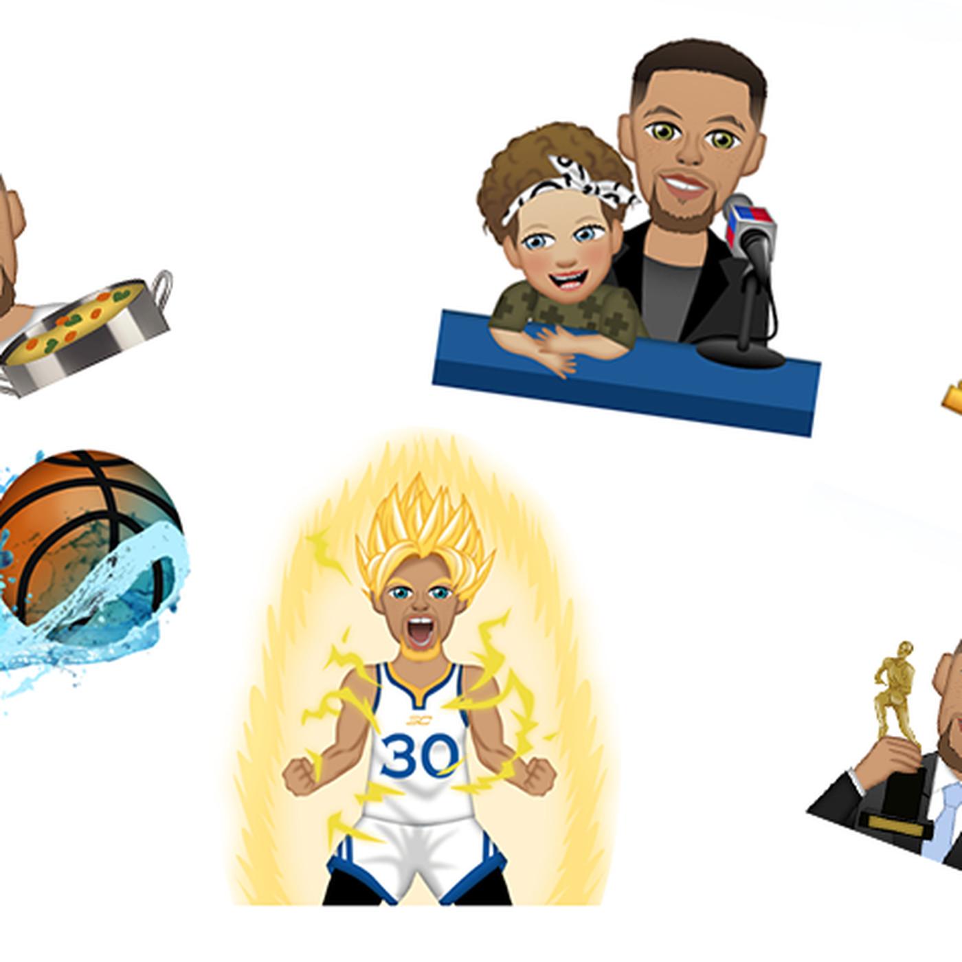 pretty nice de7de 442ad A definitive ranking of emojis from Steph Curry s new app - SBNation.com