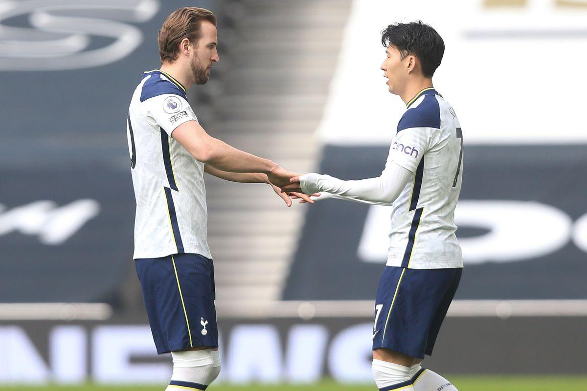 Son Heung-Min and Harry Kane - Tottenham Hotspur - Premier League