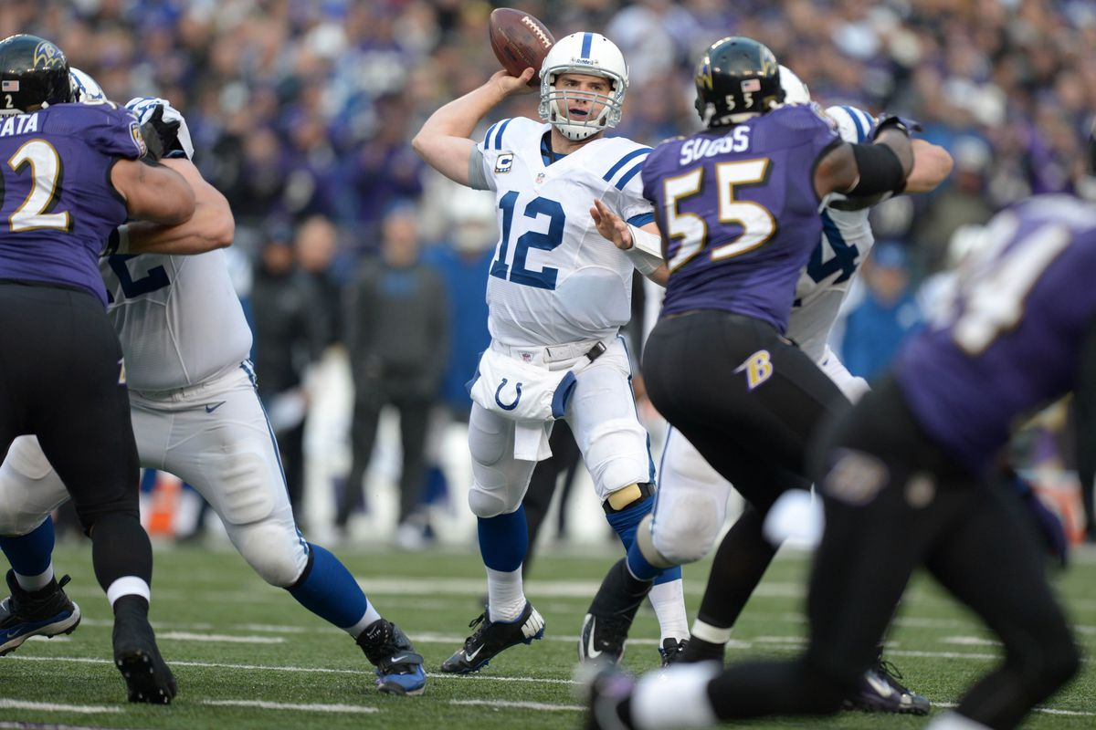 cd1f1ed7 2014 NFL Week Five Preview: Indianapolis Colts vs. Baltimore Ravens ...