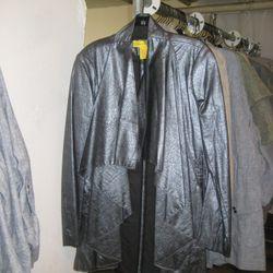 Catherine Malandrino collection Leather jacket, $295
