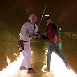 """Scene from """"Back to the Future."""""""