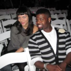 Anthony and Maya from Project Runway 7