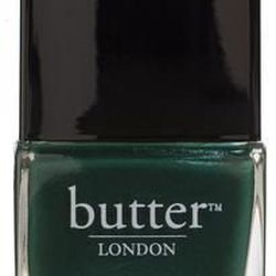 """Butter London Nail Lacquer in British Racing Green, <a href=""""http://www.butterlondon.com/lacquers/3-free-lacquers/british-racing-green"""">$14</a>"""