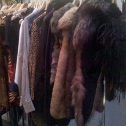 Erin Wasson loves her some fur.