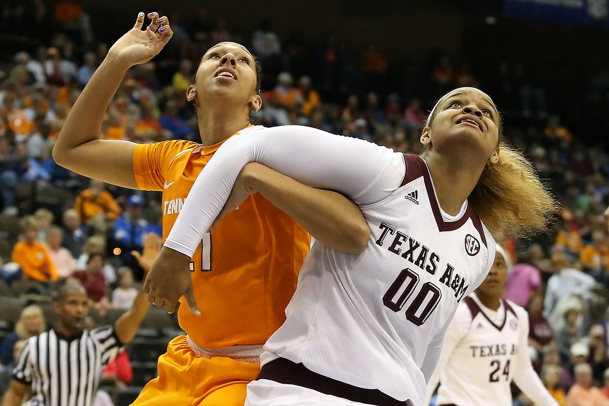 NCAA Womens Basketball: SEC Basketball Tournament- Tennessee vs Texas A&M