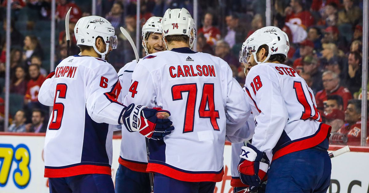 Capitals vs. Flames Recap: John Carlson Hits 20 Points in 5-3 Win Over Calgary - Japers' Rink
