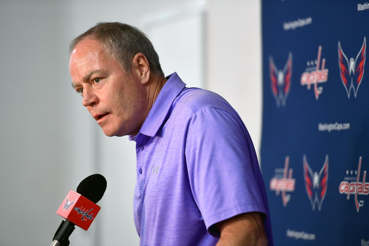 Washington Capitals GM announces that coach Barry Trotz resigns