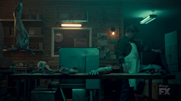 Ed and his arms on Fargo.