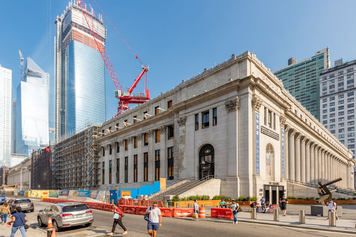 Is Usps Mead Wa Open On Christmas Eve 2020 Photos: Moynihan Train Hall construction progress in New York City