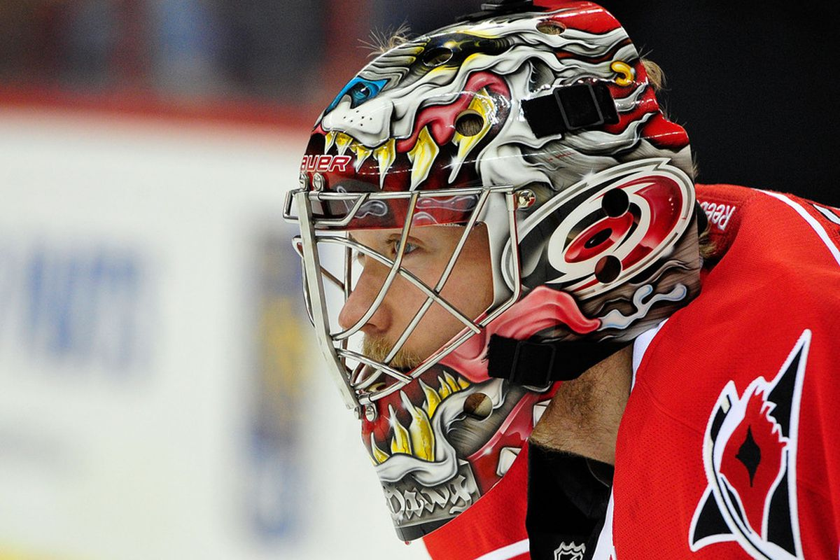Goalie Justin Peters has a new home in Washington D.C.