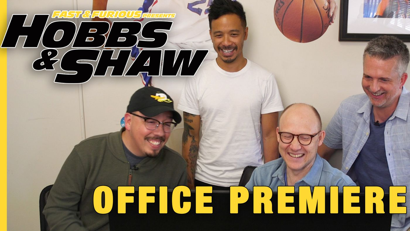 Office Premieres: 'Hobbs & Shaw' Trailer Breakdown